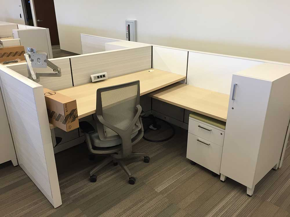 modular furniture installation
