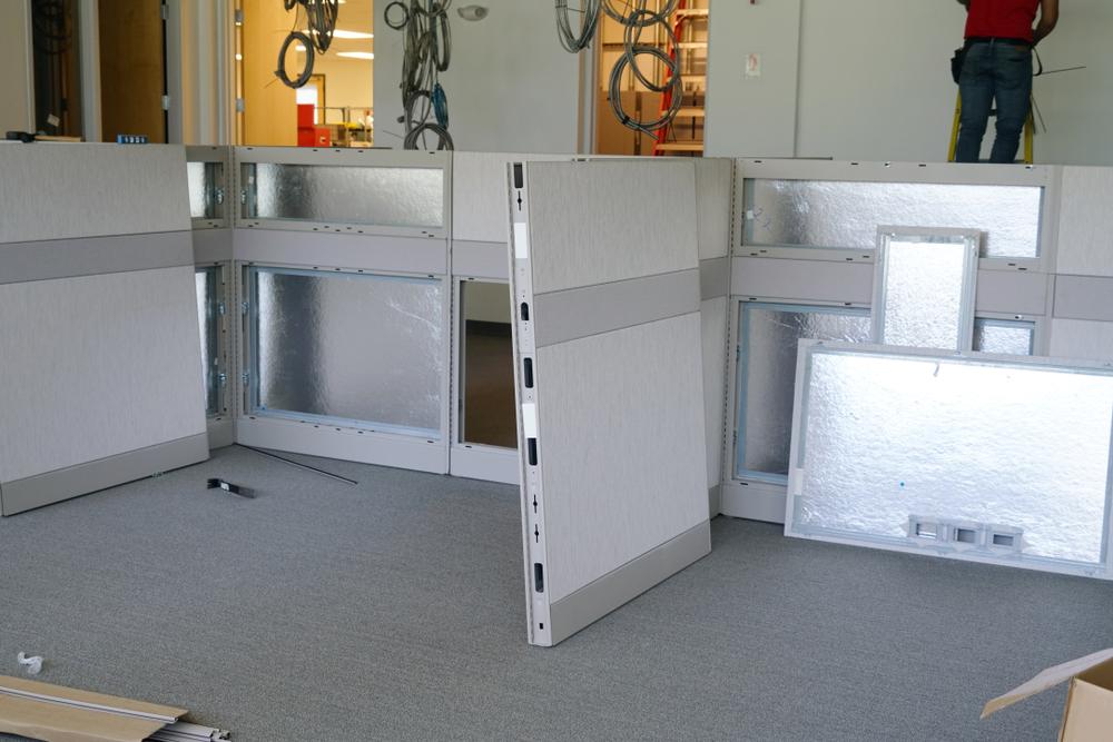 contractors doing las vegas cubicle installation
